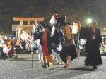【第29回ながい黒獅子まつり−豊里神社(時庭)−】:画像