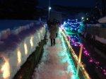 【ながい雪灯り回廊まつり 2019】:画像