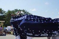 【第30回ながい黒獅子まつり〜昼まつり黒獅子舞(2日目)】:画像