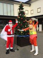 【道の駅のクリスマス】:画像