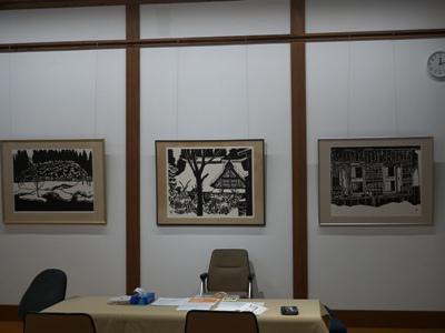 【菊地隆知 俳画とさし絵展】:画像