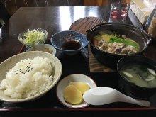 長井市《味代食堂》の日替わりランチ:画像
