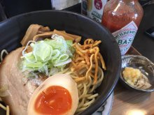 長井市《拉麺二段》の限定麺:画像