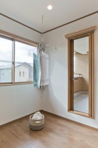 室内物干スペース:画像
