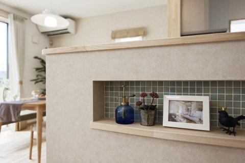 キッチンにある可愛らしいニッチ:画像