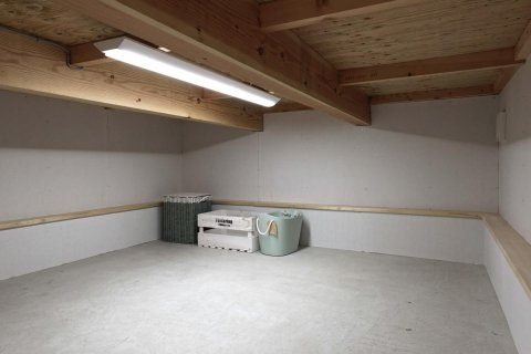 広々4.5帖の床下収納:画像