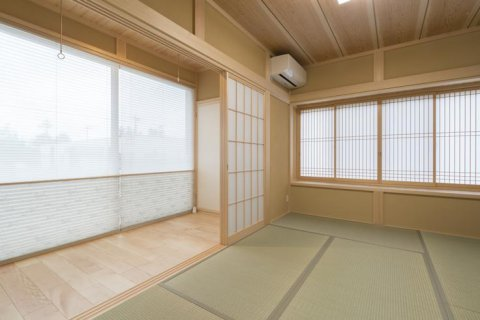広縁からの和室:画像