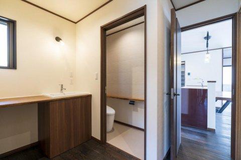 造作洗面台・トイレ:画像