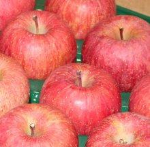 山の市場のふじリンゴに…たくさんのメールが!:画像