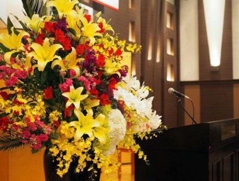 沢山のお花や電報やお祝いに感謝です。:画像