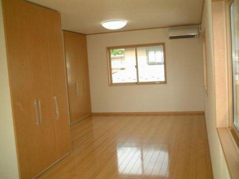 収納で間仕切できる部屋:画像