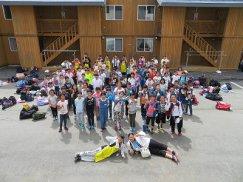 上山市高校生ボランティア「あすなろ」の「第34回わんぱく交歓交流会」:画像