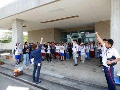 山形県青年の家体験講座�『舞鶴山でスポGOMI!』:画像