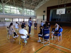山形県青年の家体験講座�「ボランティア実技研修会」:画像