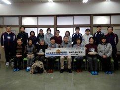 山形県青年の家体験講座�「地域の食と文化-みそ作り体験—」:画像