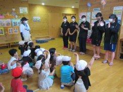 舟形町高校生ボランティアサークル「ふなっ子」 『ほほえみ保育園訪問』:画像