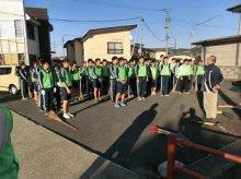 若い力を地域の力に!!(長井高校1年生ボランティア):画像