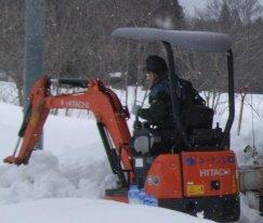 ユーケン工業(株)様 除雪ボランティアありがとうございました。:画像