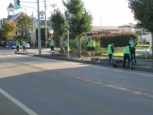 長井高校2年生193名のボランティア:画像