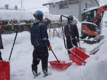 ユーケン工業(株)様 除雪ボランティアありがとうございました:画像