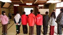 長井市ジュニアリーダー様 修了式前の除雪ボランティアお疲れ様でした:画像