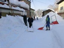 除雪ボランティア個人登録者の皆さん お疲れ様でした:画像