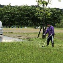 『燦燦会』さま 草刈りボランティアありがとうございました。:画像