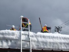 長井市建設業除雪ボランティア協議会様 除雪活動ありがとうございました。:画像