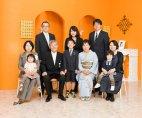 山形 叙勲受章記念写真 家族記念写真 肖像写真:画像