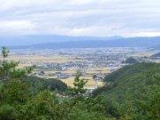 鈴沼コース中腹からの眺め  眼下は塩森:画像