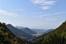 二井宿峠の風景:画像