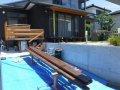 【郡山市台新・Sさん宅の改造 】変形デッキの施工:画像