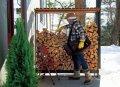 【ワークショップ 】 「薪棚づくり」郡山市西田・ドミノT邸:画像