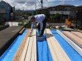 【郡山市台新・Sさん宅の改造 】デッキ増床! 施主による塗装..:画像