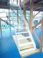 【いわき市四倉・A邸/伊礼智設計室】 白い輝きを放つ鉄骨階段:画像