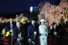 ☆しだれ桜の夕べ むかさり行列☆:画像