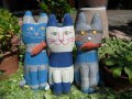 3匹のネコ現れる!:画像