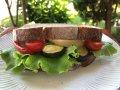 ロースト野菜サンドイッチ:画像