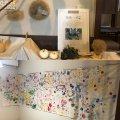 地域の学生さんとアートで交流:画像