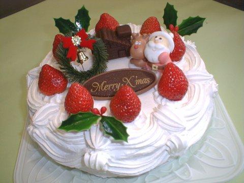 風林堂のクリスマスケーキ:画像