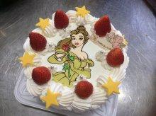本日のキャラクターケーキにこ(^O^)/:画像