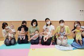 赤ちゃんと一緒〜ベビープログラム〜4期 開催しました!:画像