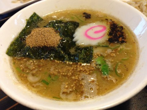 節のきいた濃厚醤油スープです:画像