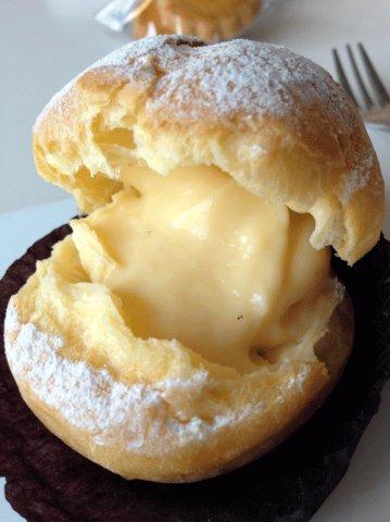 やさしくて上品な風味のシュークリーム。:画像