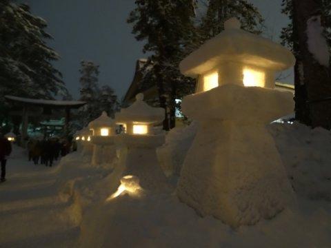 米沢上杉雪灯篭まつり:画像