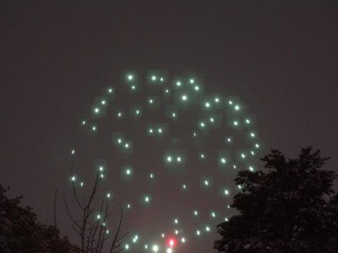 冬の花火 ⛄️:画像