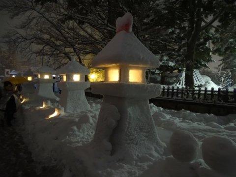 上杉雪灯篭まつり❄️:画像