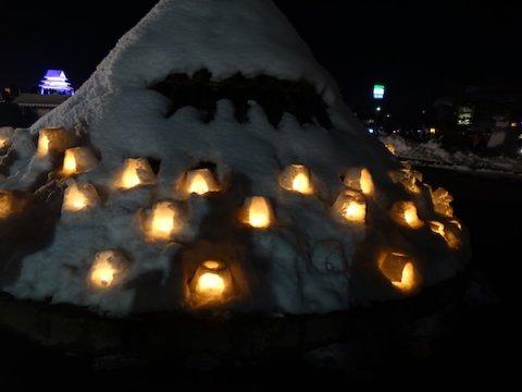 2018-2-10 第41回上杉雪灯篭まつり🕯:画像
