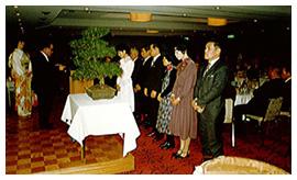 会社20周年記念式典