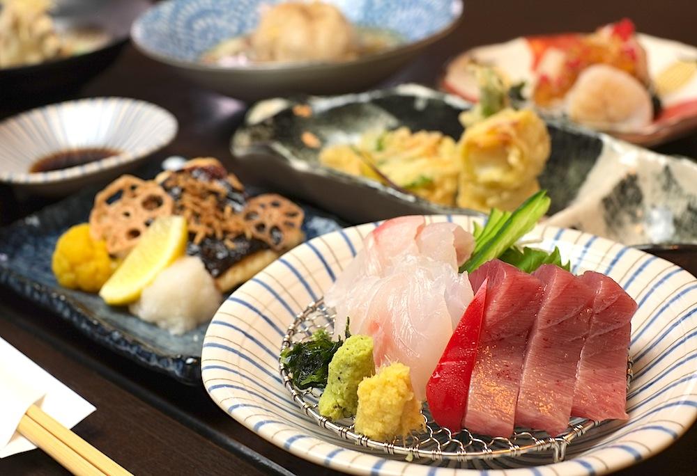 一流の日本料理をリーズナブルに